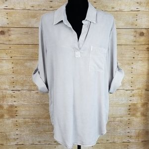 Cloth & Stone Chambray Tunic Top